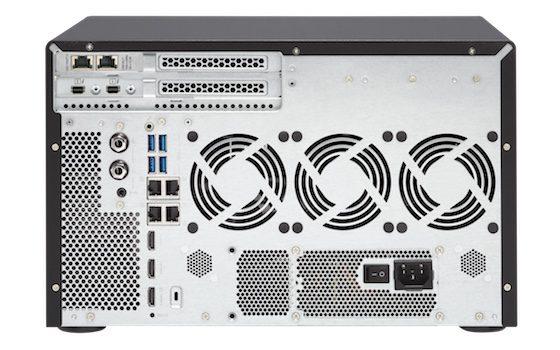 Conexones disponibles en el TVS-1282T