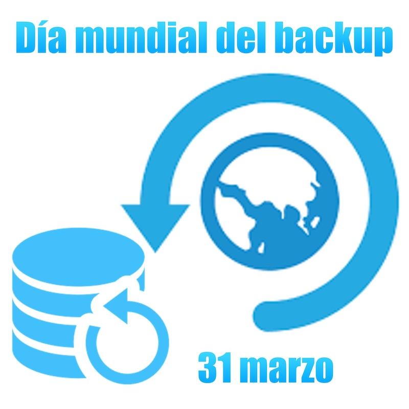 31 marzo día mundial del backup