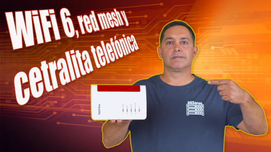Router Wifi6, red mesh, y ADSL hasta 300Mbps.