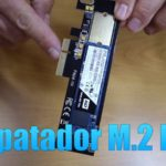 Adaptador PCie M.2 para discos NVMe en un NAS