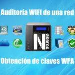 Auditoria wifi con un NAS