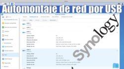 Automontaje de red por USB en Synology