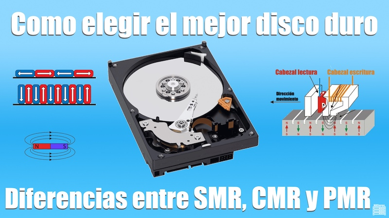 SMR vs CMR. Como elegir el mejor disco duro