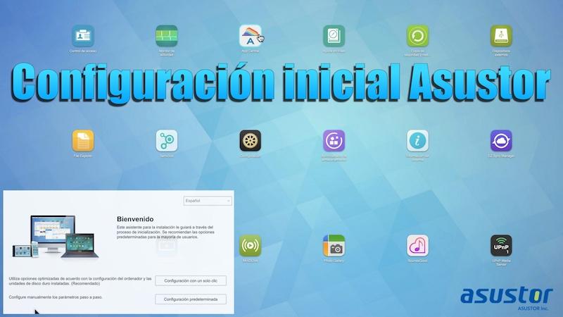 Configuración inicial ASUSTOR