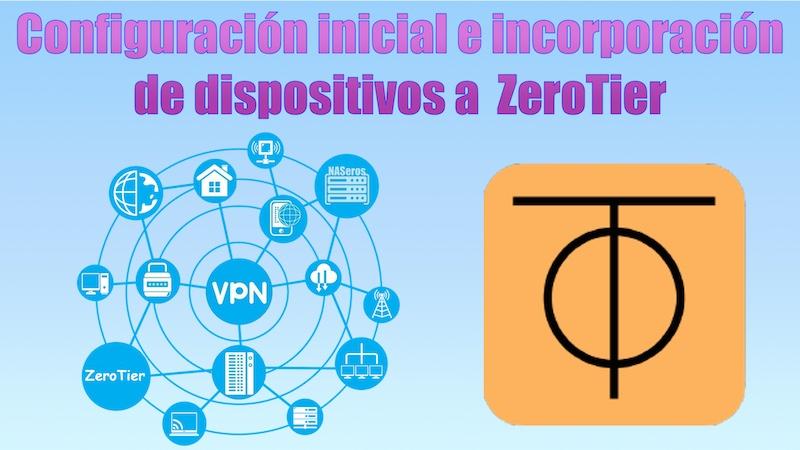 Configuración inicial e incorporación de dispositivos en ZeroTier