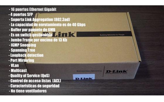D-Link DGS-1210 caracteristicas