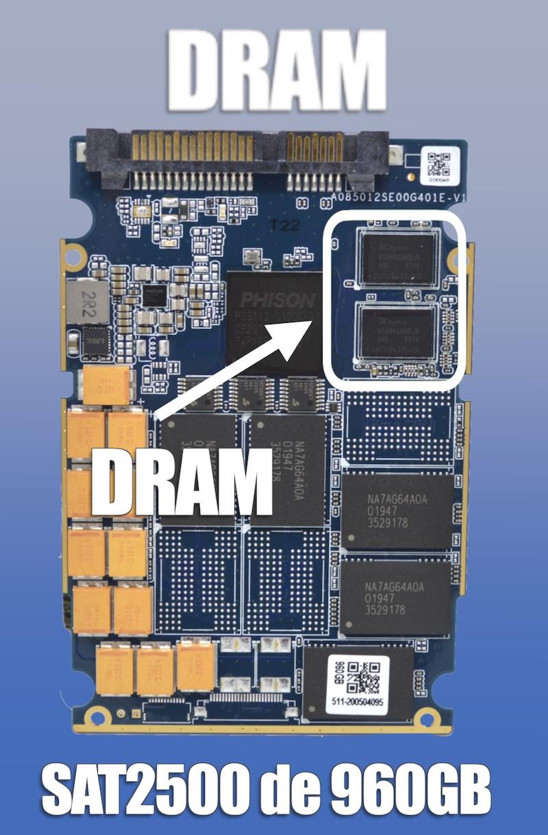 DRAM ssd synology sat5200