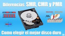 Diferencias entre SMR, CMR y PMR