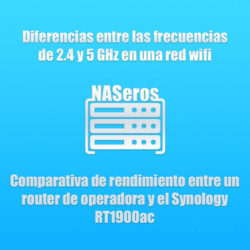 Frecuencias de 2,4 y 5 GHz en una red wifi