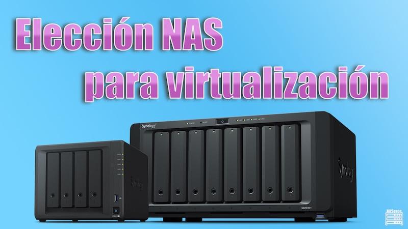 Elección de un servidor NAS para virtualización