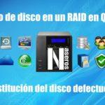 Fallo de disco en un RAID en QNAP. Sustitución del disco defectuoso