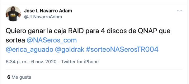 Sorteo Caja RAID Qnap Naseros