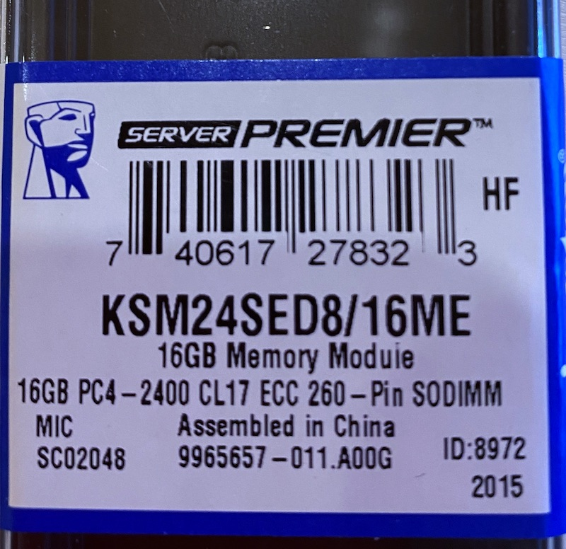 Kingston KSM24SED8