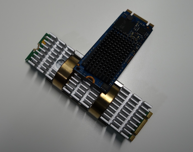 M.2 SATA vs M.2 PCIe disipadores calor