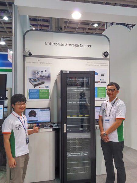 armaio rack de alto rendimiento presentado por QNAP en la Computex 2016