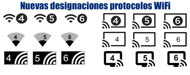 nuevos nombres protocolos wifi