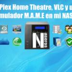 ¿Puedo instalar Plex Home Theatre, VLC y un emulador MAME en un NAS?