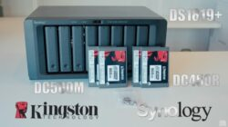 Preparación kingston Synology DS1819+ SSD para servidores