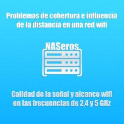 Problemas de cobertura e influencia de la distancia en una red wifi