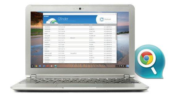QFinder para Chrome