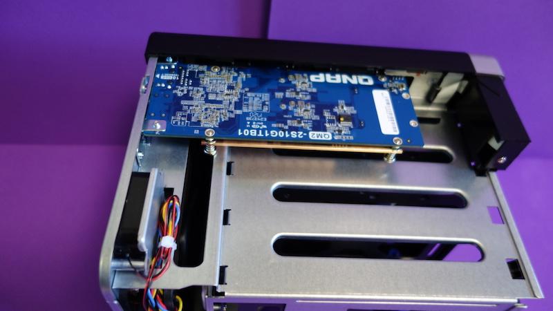 QM2 QNAP PCIe1 0GbE SSD M.2 453BT3