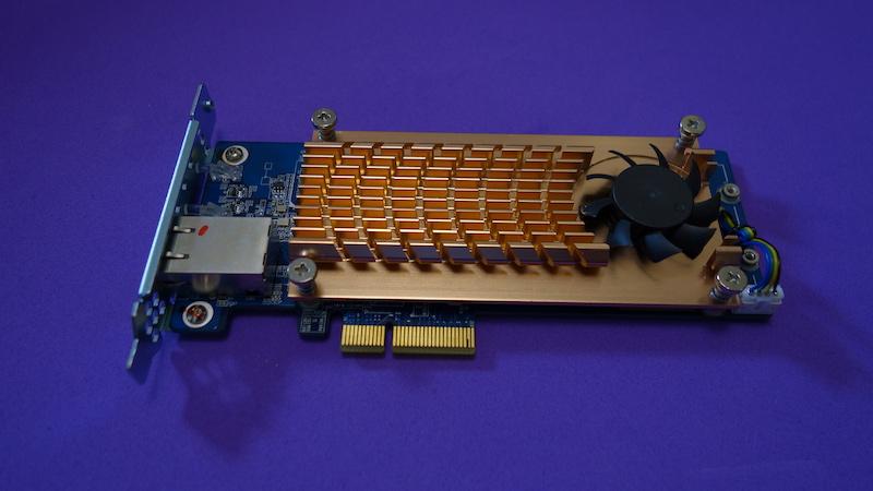 QM2 de QNAP PCIe
