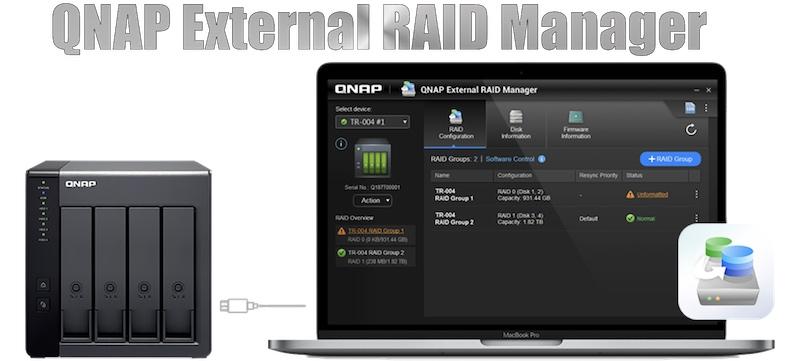 QNAP External RAID Manager