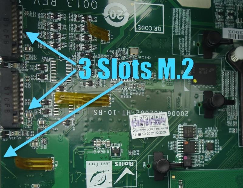 QNAP TS-332X slots M.2