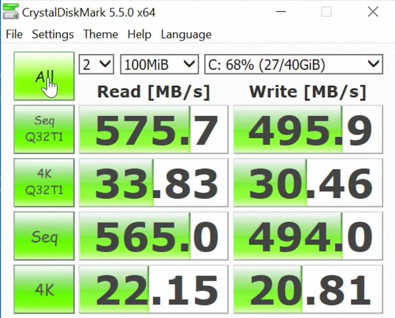 QNAP TS-1277 el NAS más potente del mundo benchmark discos