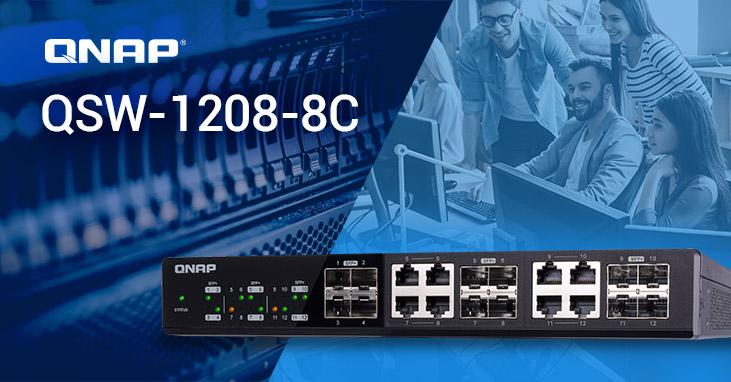 QNAP switchs de 10 Gbps