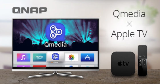 Qmedia de QNAP para el Apple TV 4
