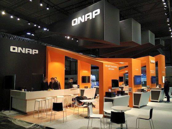 Qnap en el CeBIT 2016_stand