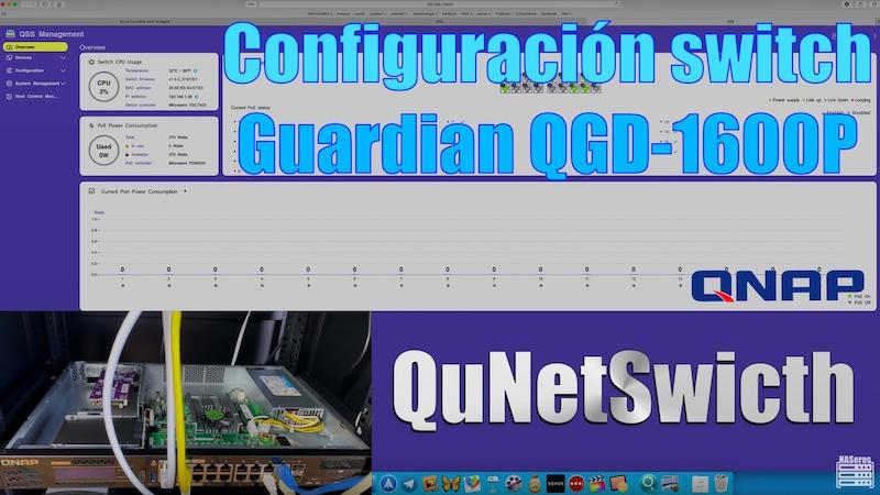 QuNetSwitch QGD-1600P