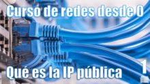 Qué es la IP pública