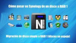 RAID 1 en Synology