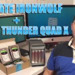 Seagate Ironwolf Akitio Thunder Quad X