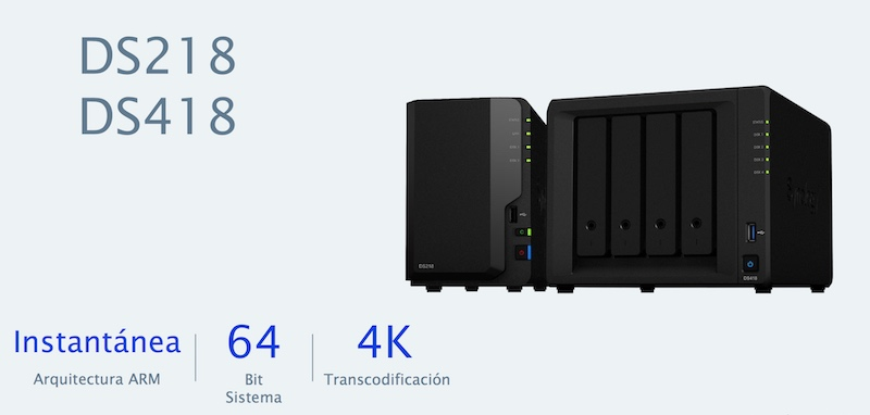 Synology 2018 DS218/418