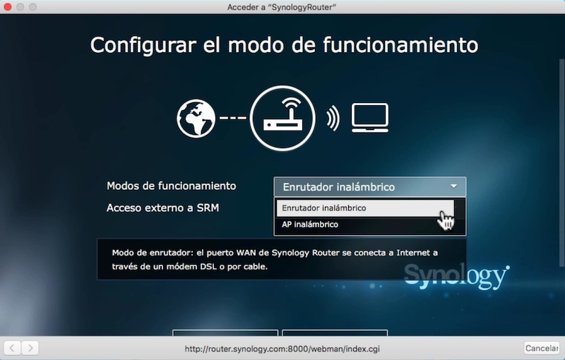 Synology RT2600ac-access-point-router