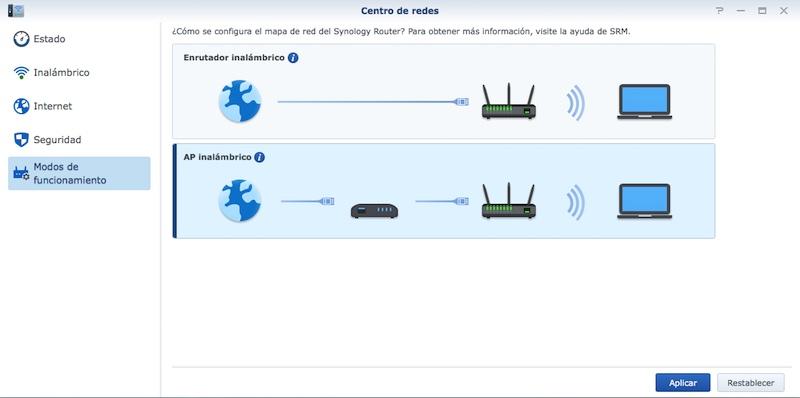 Synology-RT2600ac-modos-de-trabajo