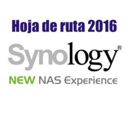 Synology hoja de ruta