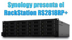 Synology presenta el RackStation RS2818RP+