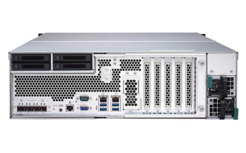 QNAP TDS-16489U R2 trasera