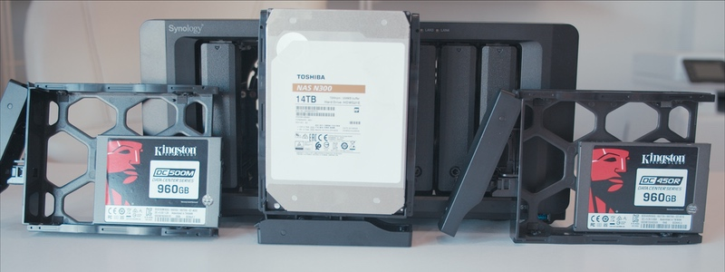 Test 10Gbps Synology ds1819+ kingston dc500