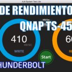 Test de rendimiento Thunderbolt del TS-453BT3 de QNAP