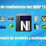 Test de rendimiento del QNAP TS-228 y TS-128