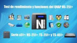 rendimiento del QNAP HS-251+