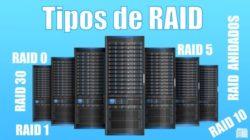 que RAID podemos configurar en servidores