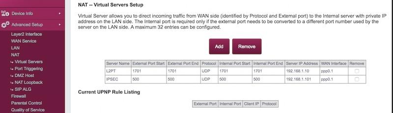abrir puertos en el router