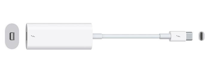 adaptador thunderbolt 2 a thunderbolt 3 USB-C