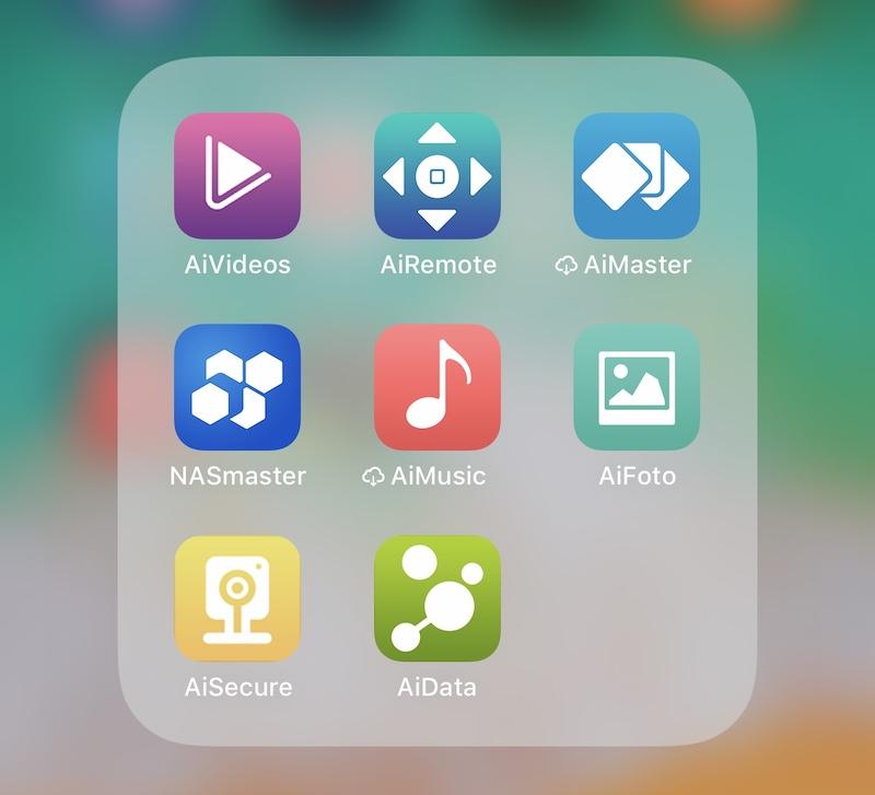apps móviles asustor